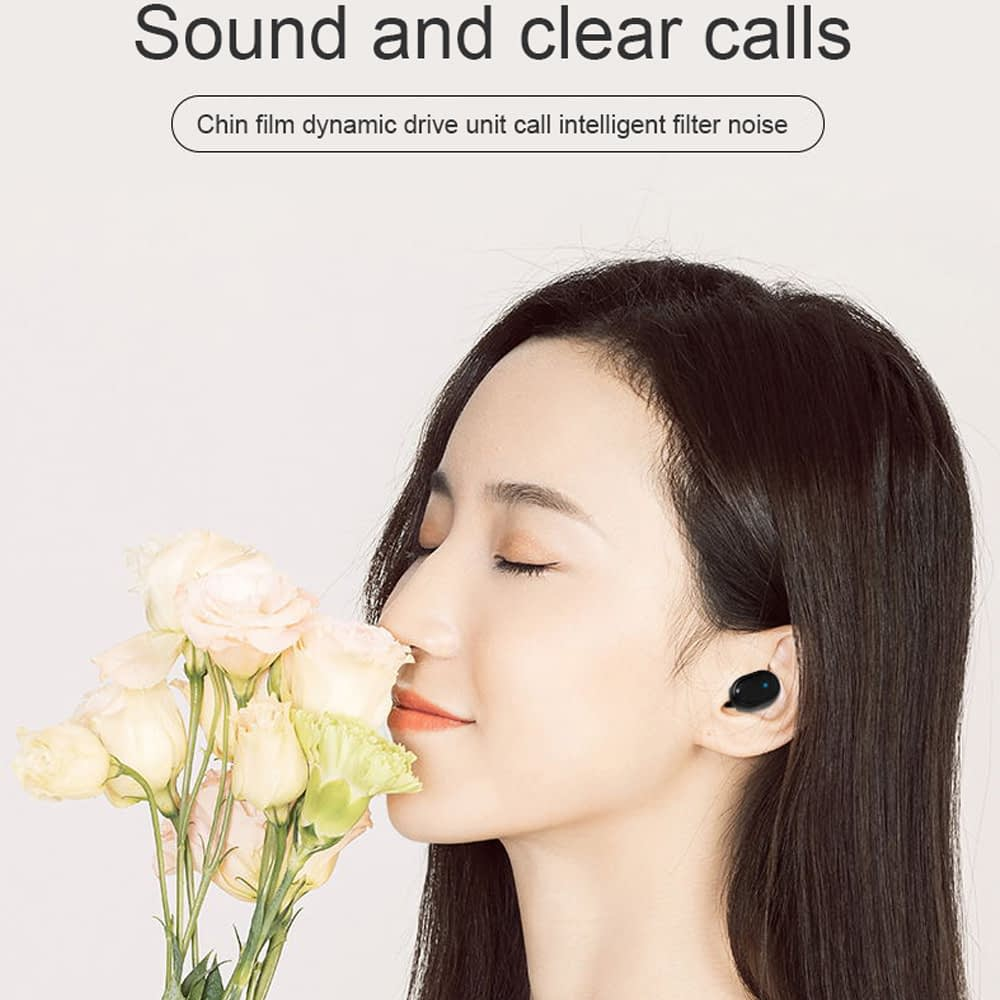 M1 TWS Earphone bluetooth 5.0 wireless earbuds (1)
