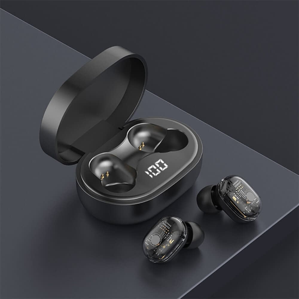 M13b tws bluetooth 5-0 earphone led display wireless earbud (14)
