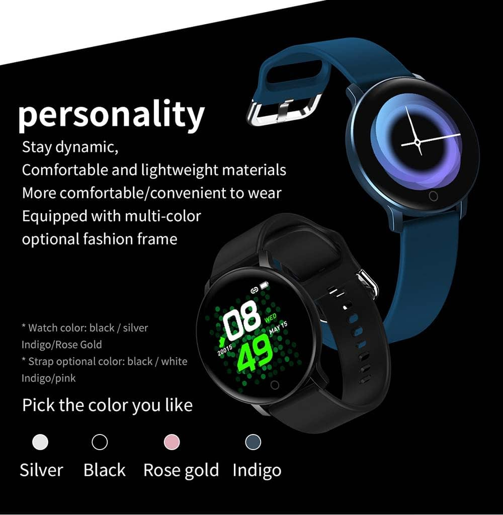 X9 smart watch 1.3 inch heart rate blood pressure watch (8)