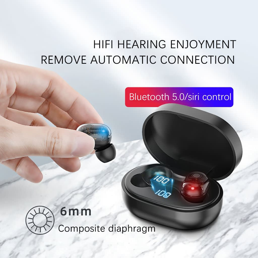 M13b tws bluetooth 5-0 earphone led display wireless earbud (6)