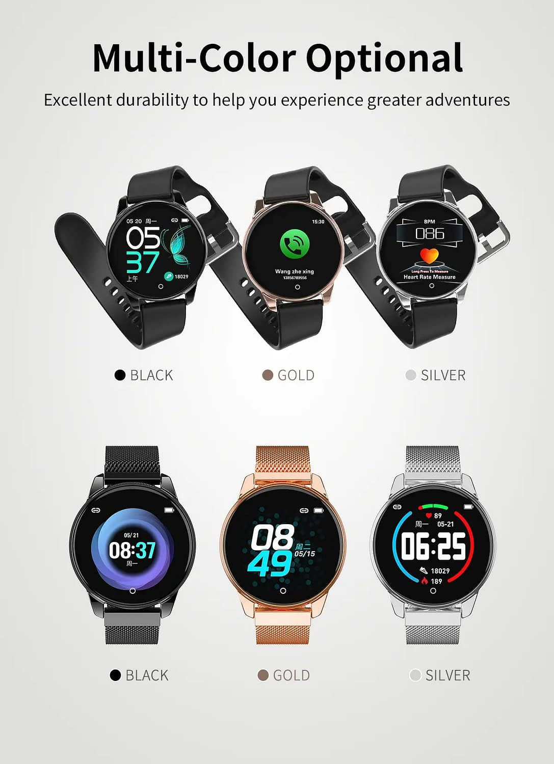 Watch 4 smart watch hd color screen wristband (27)