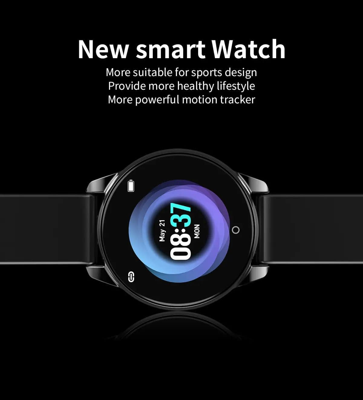 Watch 4 smart watch hd color screen wristband (26)