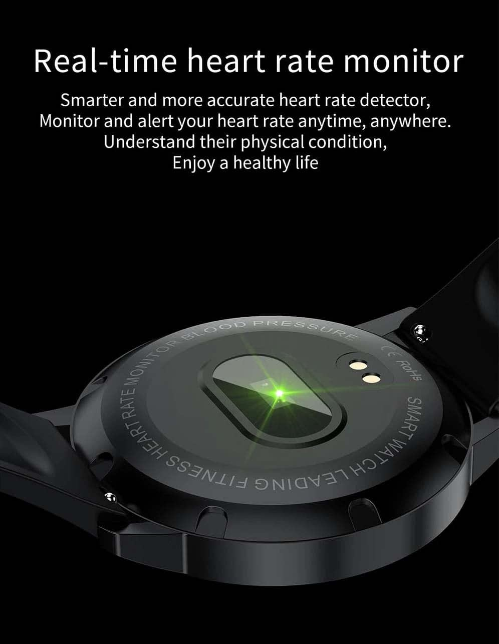 T4 pro 1.3 inch touch screen heart rate blood pressure oxygen (15)
