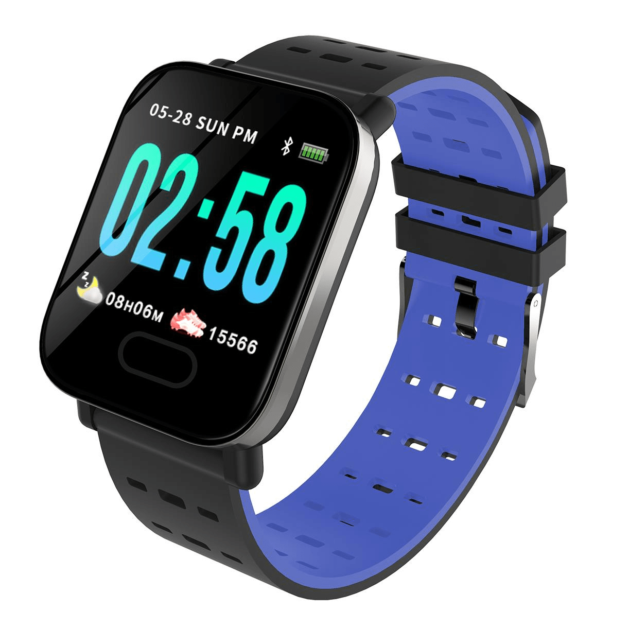 M20 smart watch 1.3 inch screen real time hr blood oxygen pressure (4)