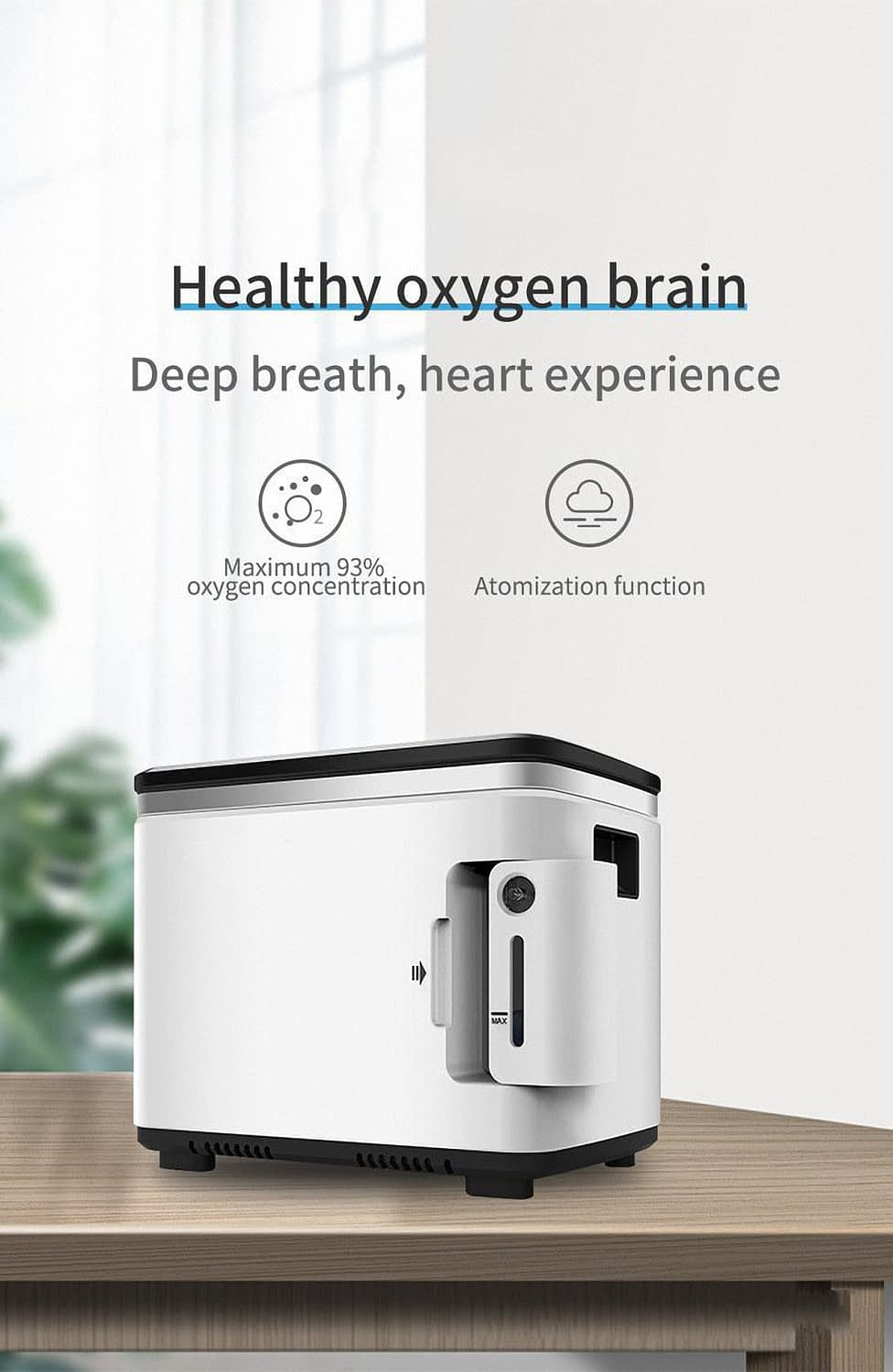 Intelligent Equipped with humidification cup Oxygen generator make the Oxygen moist Oxygen generator China (5)1