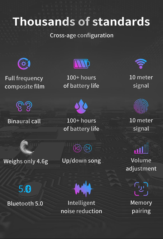 ZLT01 TWS Earphone wireless bluetooth 5.0 (5)