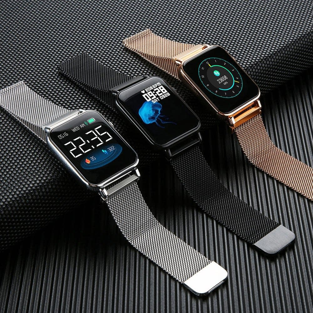 Y6 pro Smart watch fun dynamic icon hr blood pressure (1)