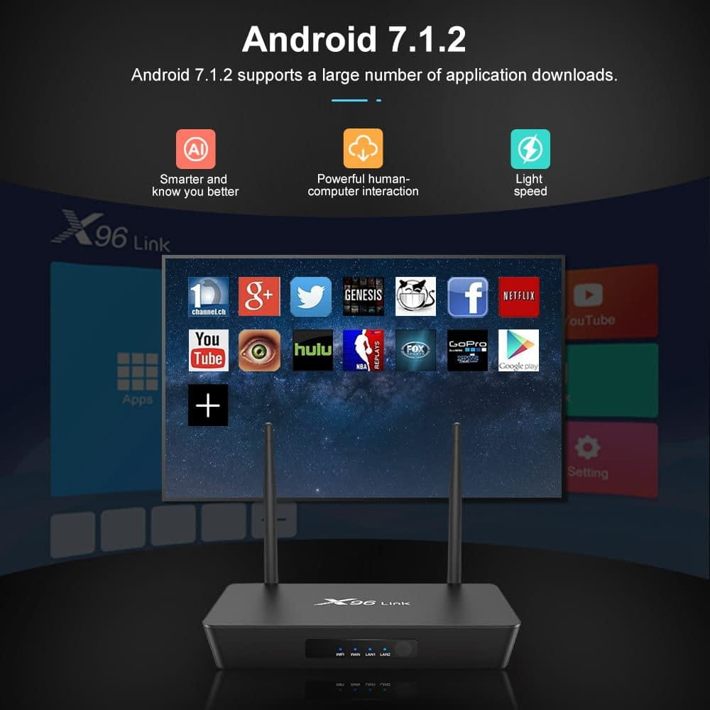Firefly X96 Link Amlogic S905W 2GB RAM 16GB ROM TV Box With Wifi Router (6)
