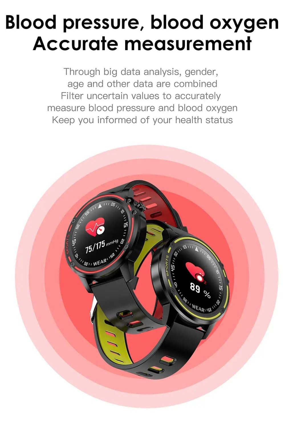 L8 Smart Watch ecg ppg heart rate blood pressure (1)