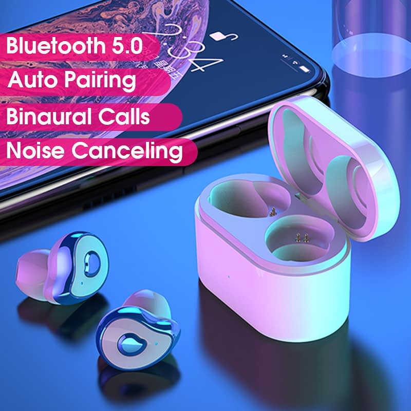 TW2 Bluetooth 5.0 tws true wireless earbuds stereo auto paring earphone (23)