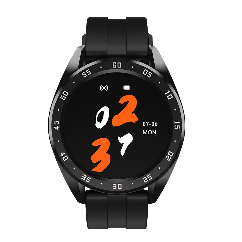 X10 heart rate blood oxygen monitor weather push call rminder smart watch wholesale (4)