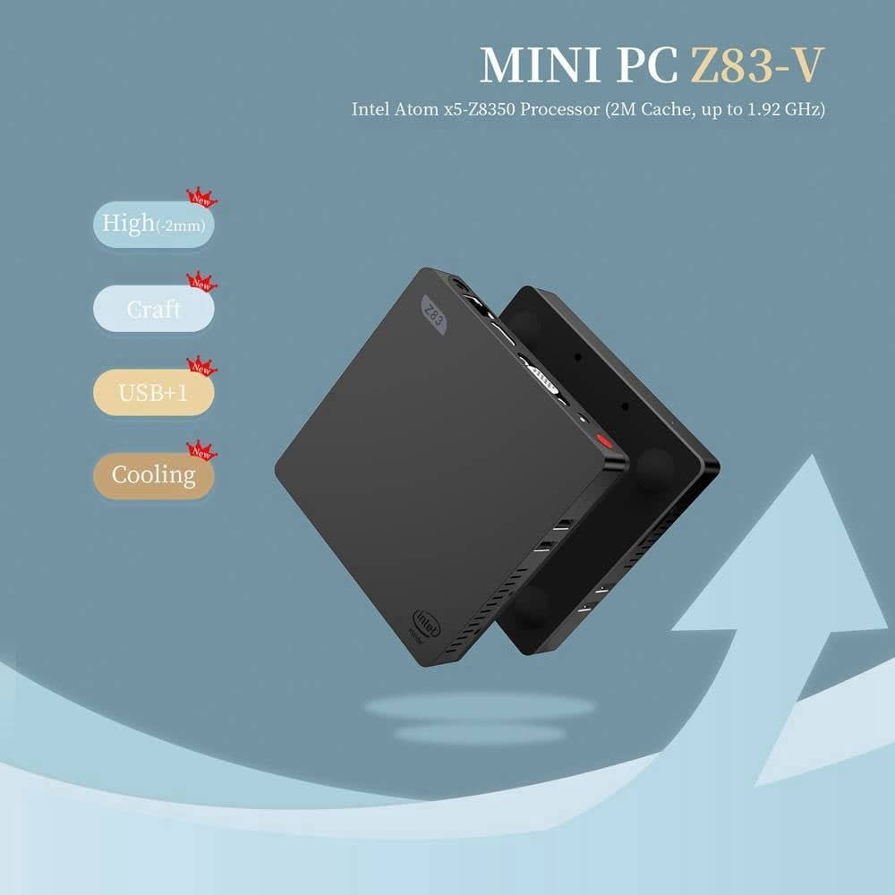Z83V Windows 10 64Bit Intel Atom X5 Z8350 4K Mini PC (2)