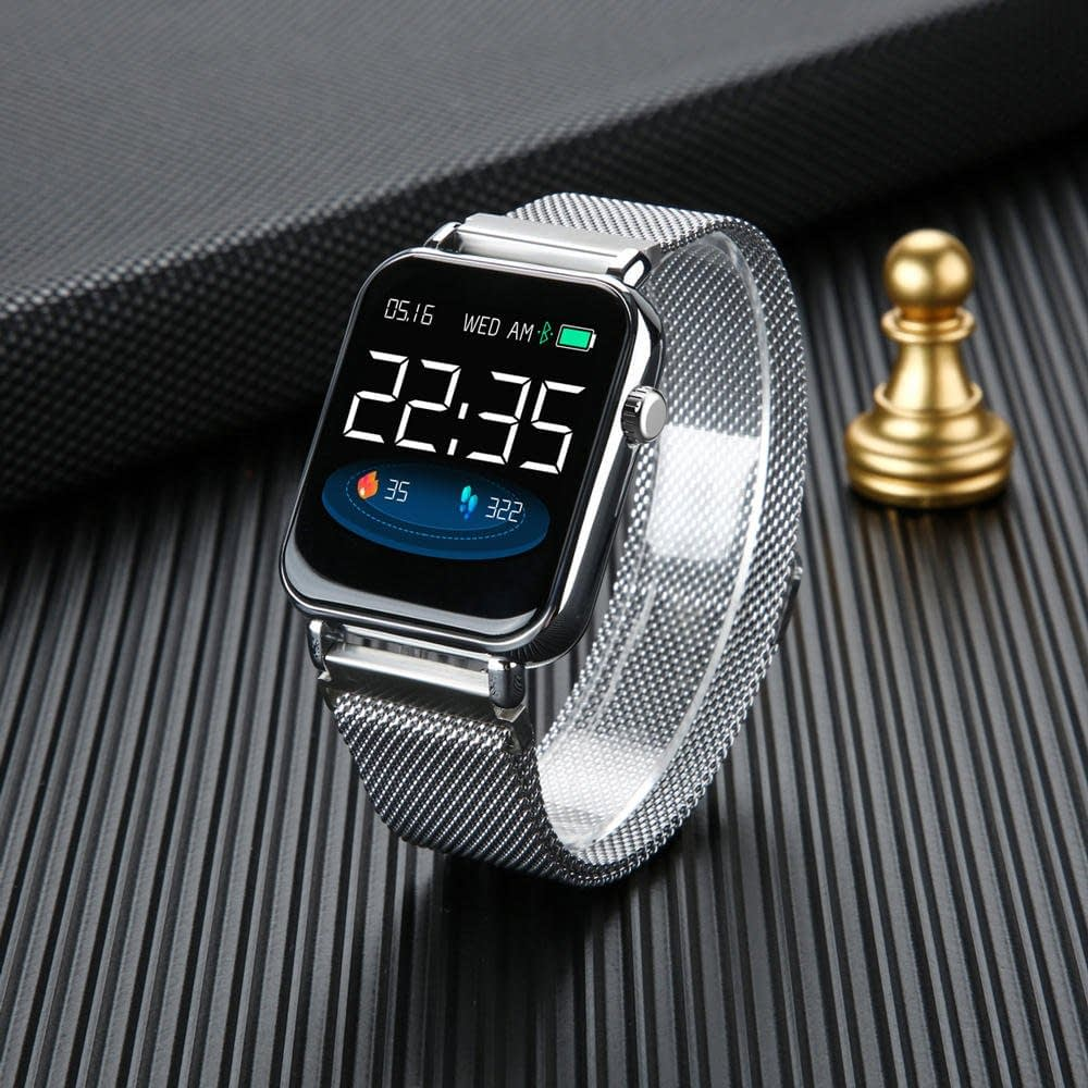 Y6 pro Smart watch fun dynamic icon hr blood pressure (10)